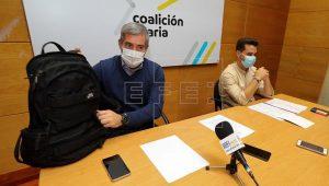 CC acusa a Darias de haber bloqueado a la agenda canaria y las transferencias