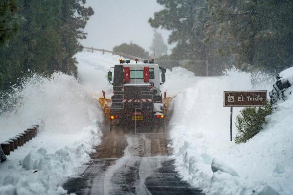 Enero de 2021, el de más actividad tormentosa desde 2014 en Canarias
