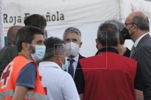 """Podemos Canarias dice estar """"harto"""" de la política migratoria de Marlaska"""