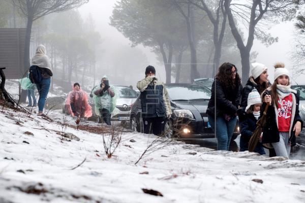 """El Cabildo """"blindará la cumbre"""" de Gran Canaria ante el anuncio de nevadas"""