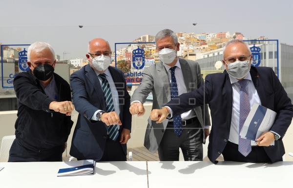 Gran Canaria impulsa un programa para formar a inmigrantes en la metalurgia