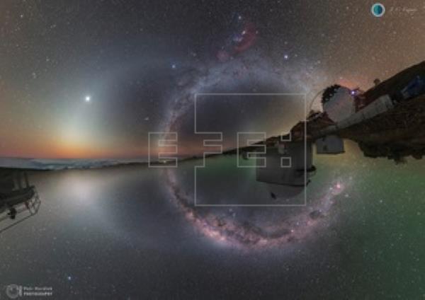 La oscuridad del Observatorio del IAC en La Palma se acerca a la natural
