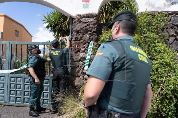 Nuevo registro en la casa del padre de las dos niñas desaparecidas en Tenerife