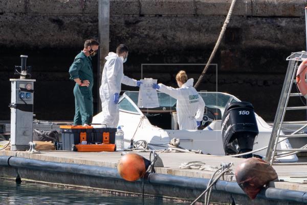Los restos de sangre hallados en el barco son del padre de niñas desparecidas