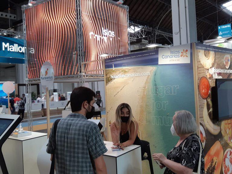 Fuerteventura consolida su éxito en la Feria de Turismo de Barcelona