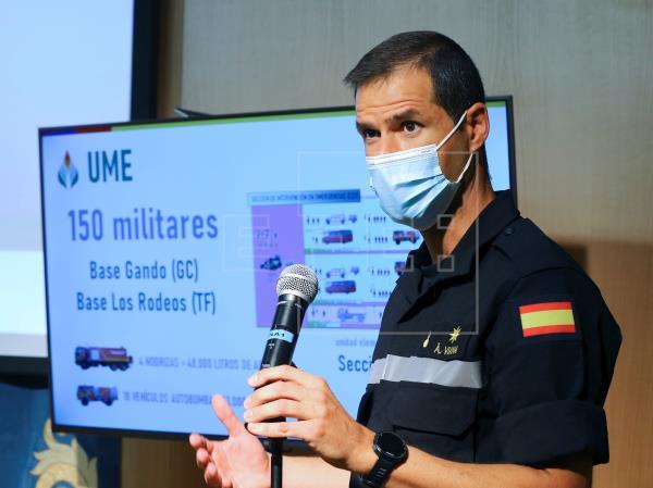 El Gobierno de España activa de cara al verano sus medios contraincendios en Canarias