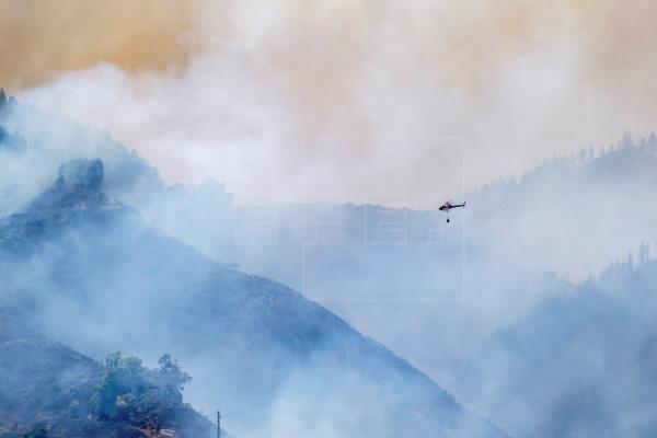 Declaran la alerta por altas temperaturas y riesgo de incendios en Canarias