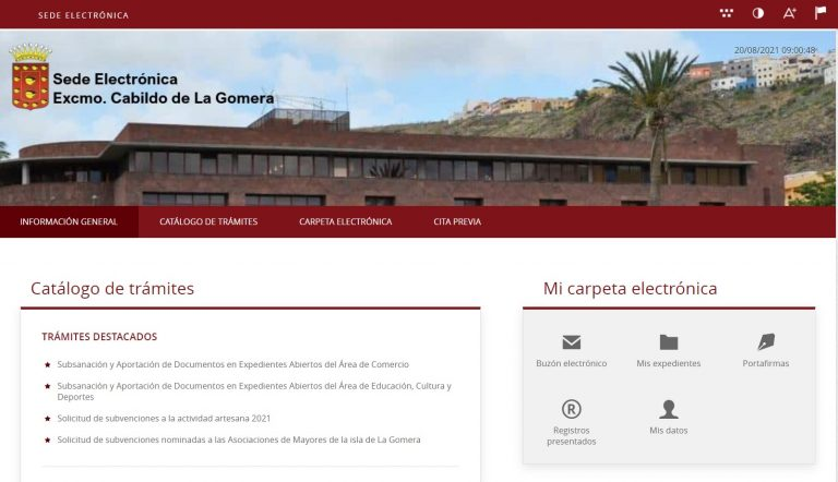 El Cabildo de la Gomera publica la resolución provisional de las ayudas sanitarias y extraordinarias