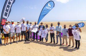 Las playas de Jandía acogerán por primera vez una prueba de las Series Mundiales de Kitefoil