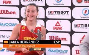 Antigua felicita a la deportista del Municipio Carla Brito, Medalla de Oro en el europeo 3×3 celebrado en Lisboa