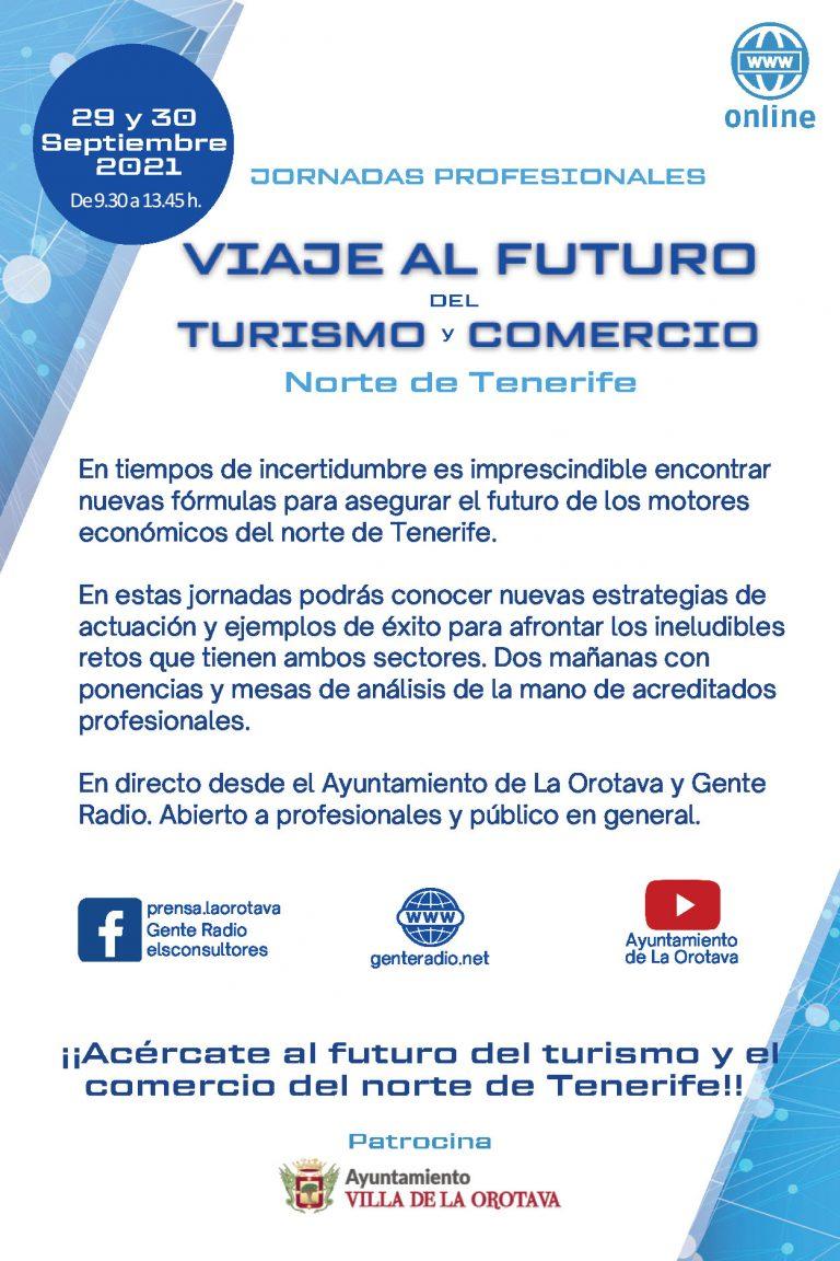 La Orotava acoge unas jornadas profesionales sobre el futuro del turismo y el comercio en el norte de Tenerife