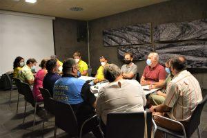 El Cabildo de La Palma y los ayuntamientos definen las medidas de prevención ante el incremento de actividad sísmica en Cumbre Vieja