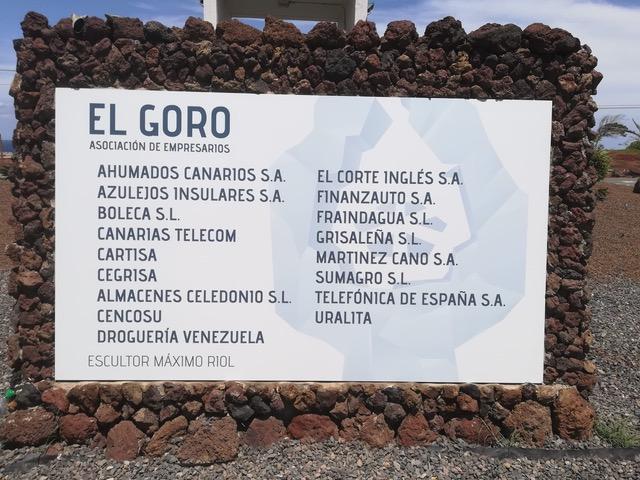 El Cabildo de Gran Canaria invierte 145.000 euros en la nueva señalética del Parque Empresarial El Goro que refuerza su identidad e imagen corporativa