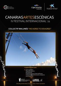 El Festival Canarias Artes Escénicas llega en septiembre a Fuerteventura con un espectáculo circense interactivo y gratuito