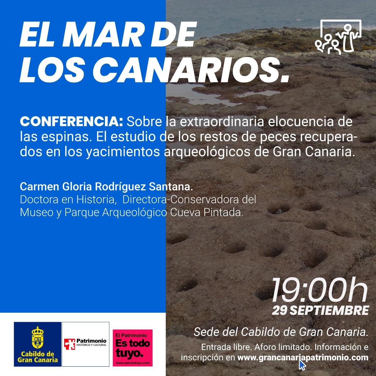 El Cabildo de Gran Canaria organiza unas jornadas para dar a conocer las investigaciones sobre los vínculos de los antiguos canarios con el mar