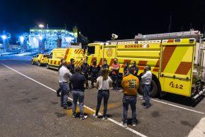 El dispositivo de Bomberos de Fuerteventura parte a La Palma para colaborar en la situación ocasionada tras la erupción volcánica