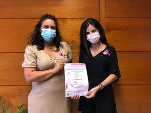 El Cabildo de La Gomera y Ámate disponen un punto de información con motivo del Día Mundial contra el Cáncer de Mama