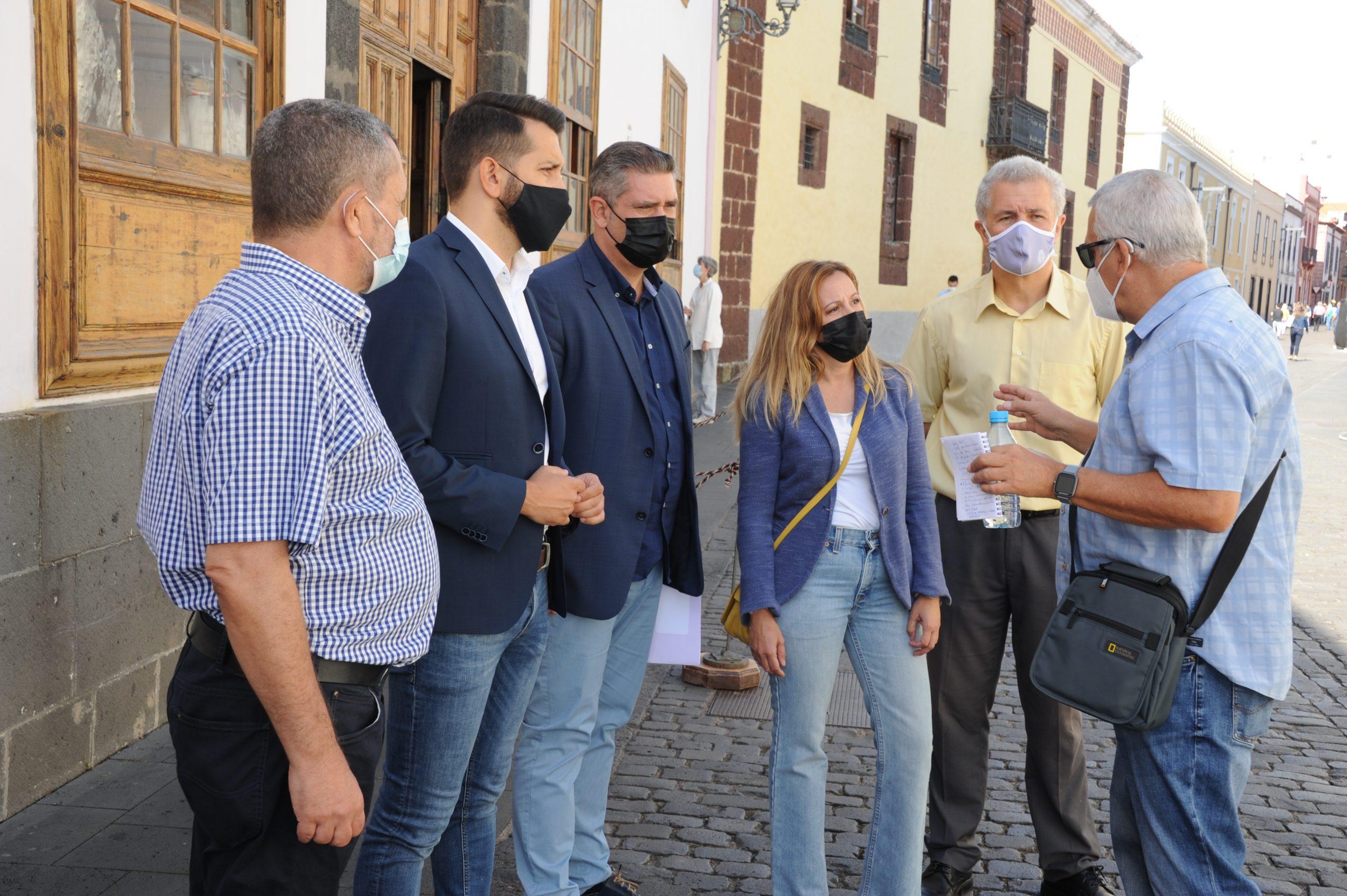 Coalición Canaria denuncia que los gobiernos de Luis Yeray y Ángel Víctor han abandonado el patrimonio de La Laguna