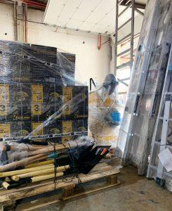 El Cabildo de La Palma dona a la UME y al Ejército de Tierra maquinaria para la limpieza de tejados y cubiertas