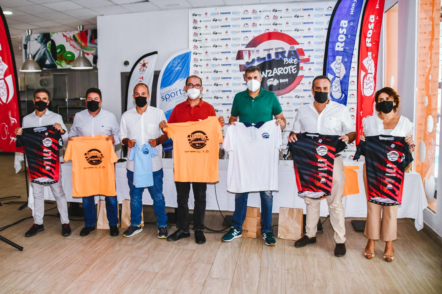 Una nueva línea de meta y 850 inscritos, protagonistas de la 7ª edición de la Ultrabike Lanzarote 2021